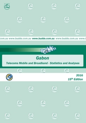 Gabon-Telecoms, Mobile and Broadband-Statistics and Analyses